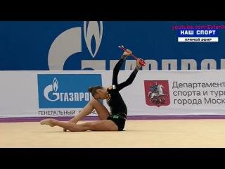 Александра Солдатова(булавы), многоборье\\Гран-При Москва 2017