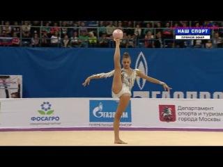 Александра Солдатова(мяч_\\Гран-При Москва 2017