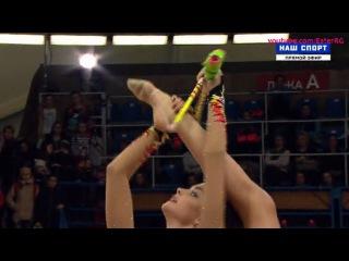 Дина Аверина(булавы), многоборье\\Гран-При Москва 2017