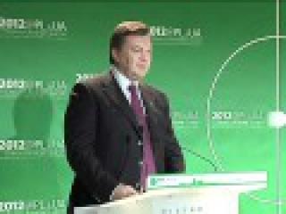 Янукович в Давосе: - увікни для себя Украину