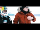 Мото дрифт на замерзшем озере Литовский стант райдер Арунас Гибежа показал как нужно ездить в заносе по балтийскому снегу