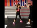 Ксения Бородина решила всерьёз заняться боксом, т.к. в этом виде спорта работают все мышцы