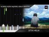 ReZero kara Hajimeru Isekai Seikatsu - Styx Helix Piano Version TUTORIAL (Ep 7 BGM)