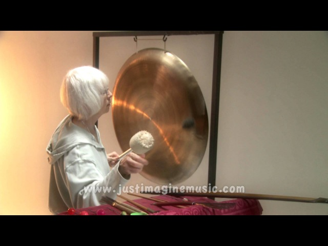 'The Gong' Solo Gong Music Marilyn Donadt Percussionist