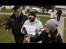 Баранавічы. Затрымалі за белы аркуш паперы Протесты 1 мая в Барановичах