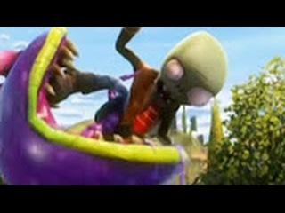 Plants vs Zombies GARDEN WARFARE 2.Full Movie part 4.Мультфильм Растения против зомби 4 часть Лучшее
