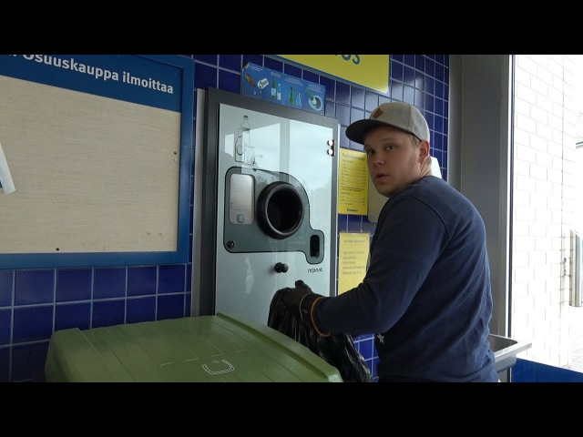 Собираем и сдаем бутылки в Финляндии. Сколько можно заработать?