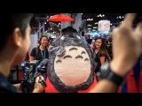 Adam Savage Incognito as Totoro at New York Comic Con!