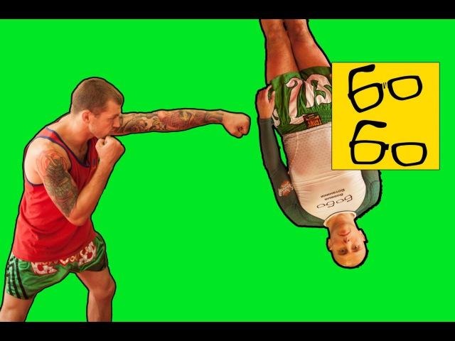 Работа на мешке c Андреем Басыниным — тренировка ударов руками на мешке в тайском боксе (муай тай) hf,jnf yf vtirt c fylhttv ,fc