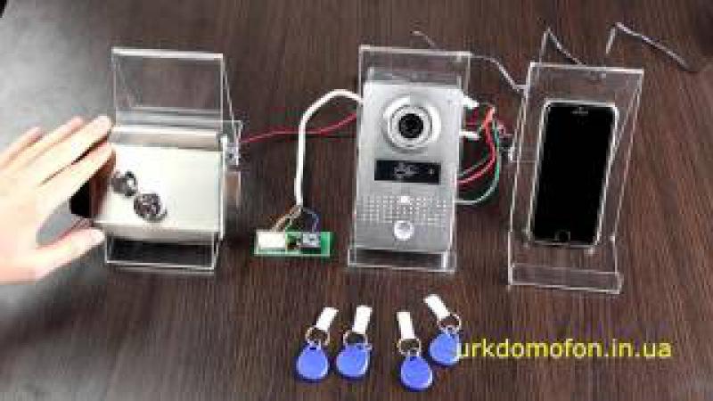 Doorbell WiFi 602A PoliceCam | WiFi домофон c замком
