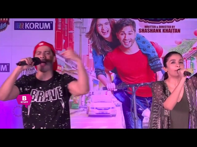 Alia Bhatt Varun Dhawan Sing Tamma Tamma Loge Badrinath ki Dulhania | KORAUM Mall Thane