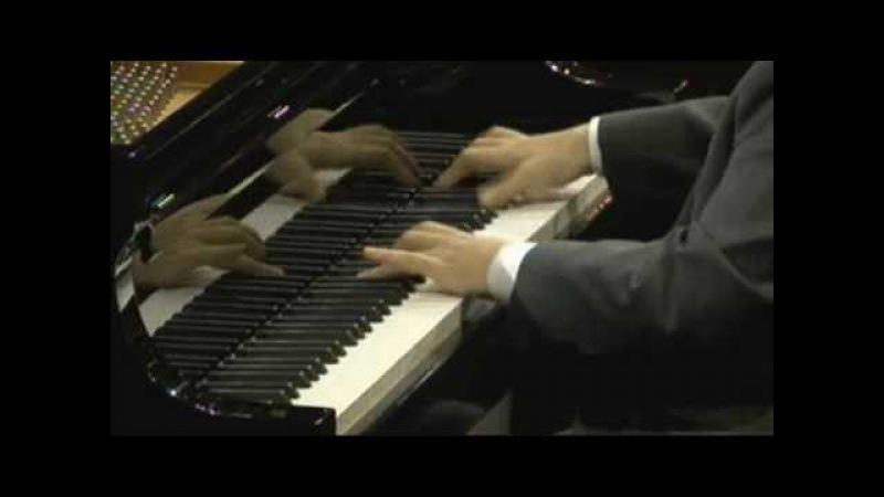 Nobuyuki Tsujii 辻井伸行 Liszt ハンガリア狂詩曲 第2番 2009 Van Cliburn International Piano Competition(WIDE)Лист Венгерская рапсодия 2