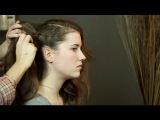 How to Put Long Hair in a Side Sweep : Hairstyles for Women