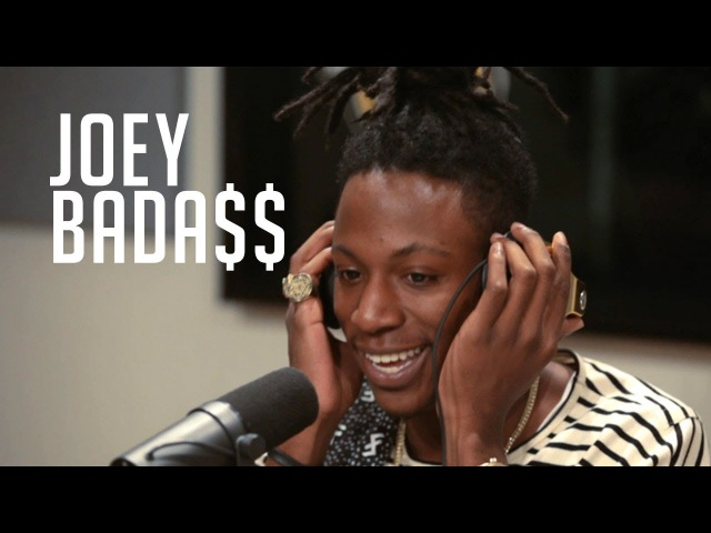 Joey Bada$$ spits fire over Metro's 'Mask Off' beat at Power 106 LA! [CC]