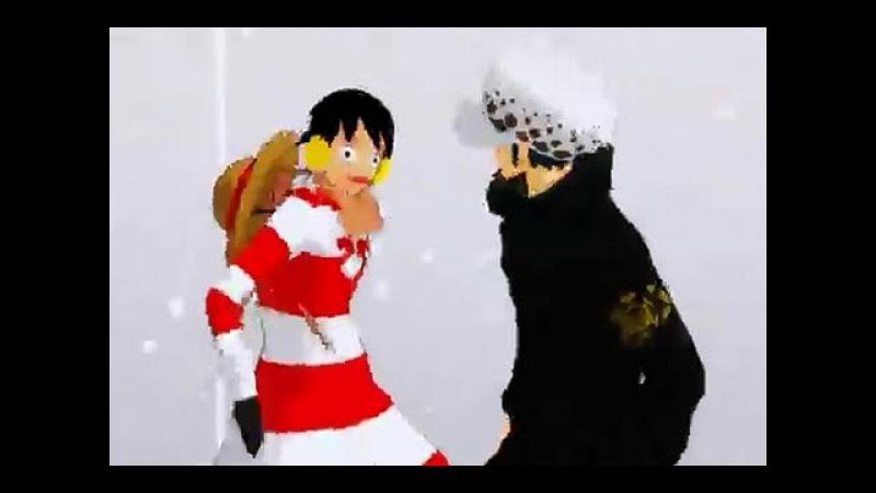 【MMD】Pirates Alliance 【 Trafalgar Law Luffy 】