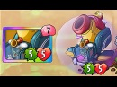 Plants vs Zombies Heroes Zombot Battlecruiser Gameplay Almost Finished Bonus Track Buckethead