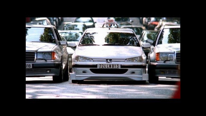 Такси 1998 Дубляж Финальная погоня Taxi 1998 Dubbing The Final Chase