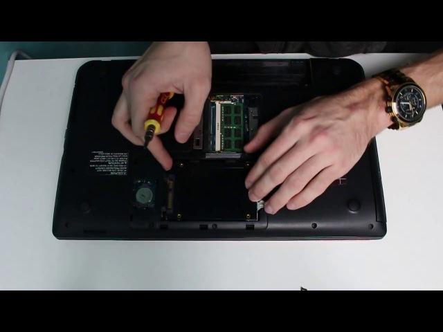 Замена жесткого диска на SSD Toshiba Satellite C50 A K9K