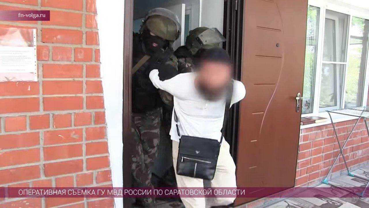ВСаратовской области схвачен вербовщик террористической организации