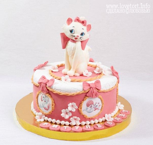 """Торт """"Кошечка Мари"""" cake"""