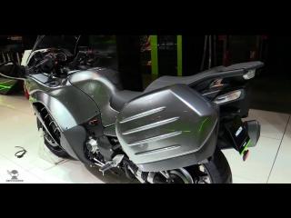 Обход: 2017 Kawasaki 1400 GTR на 2016 EICMA Milan