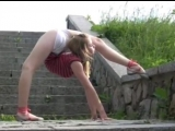 Incredibly flexible girl, contortion
