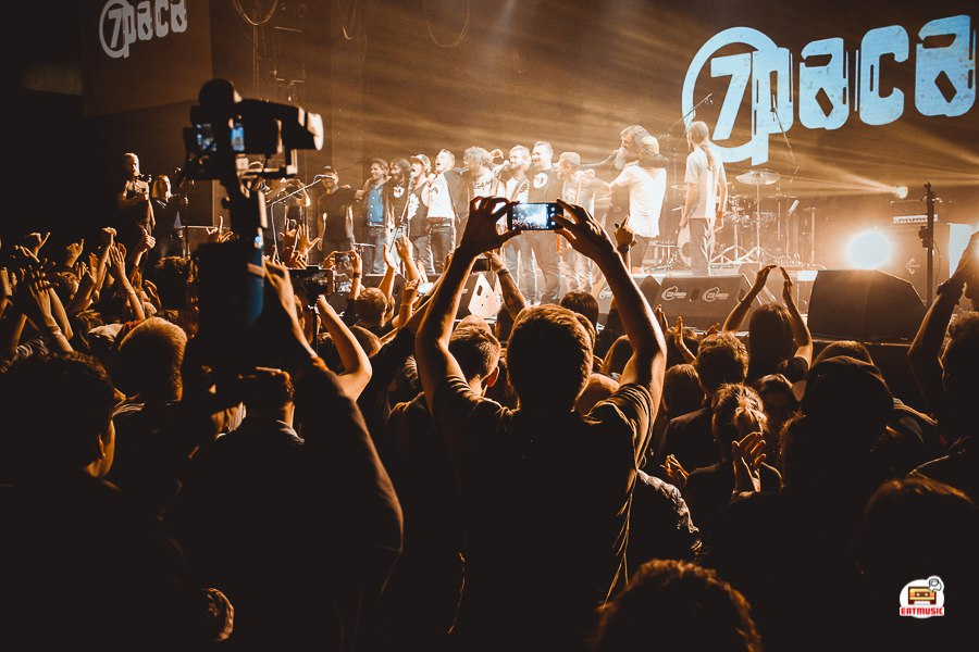 Легендарный московский коллектив 7раса отметил свое 20-летие на сцене ГлавClub Александр Киселев
