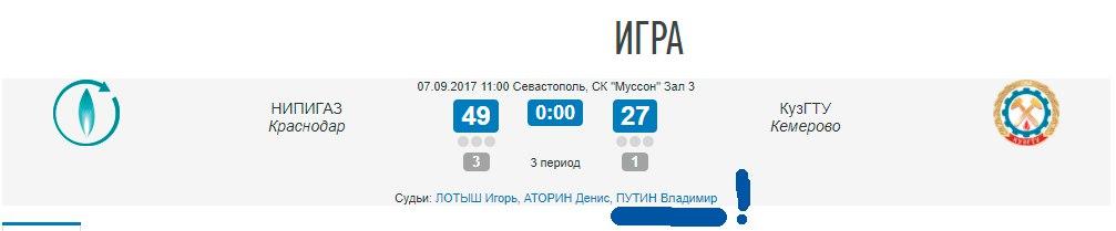 НИПИГАЗ на Суперфинале МЛБЛ 2017