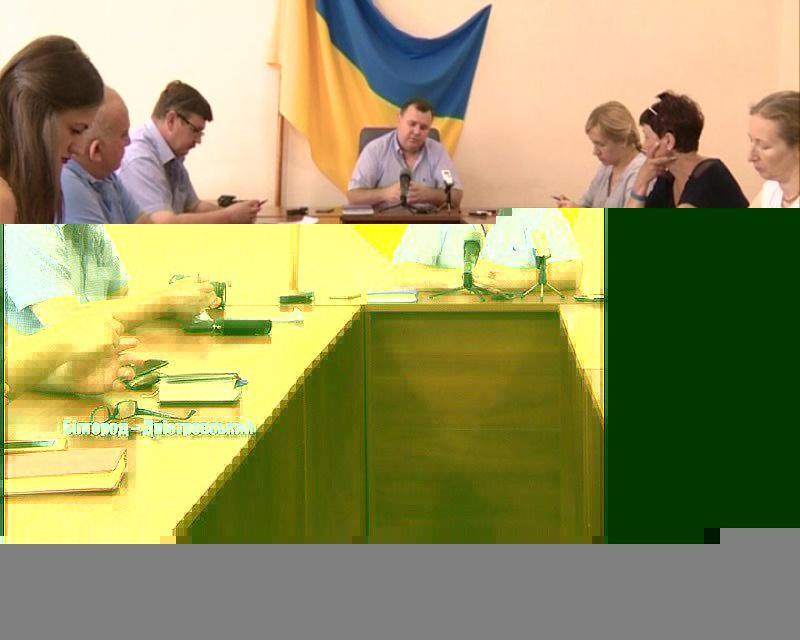Перша прес-конференція секретаря міськради