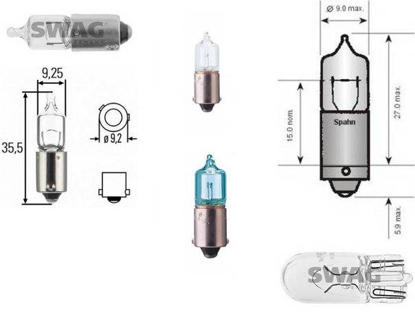 Лампа накаливания, стояночные огни / габаритные фонари для BMW Z8 (E52)