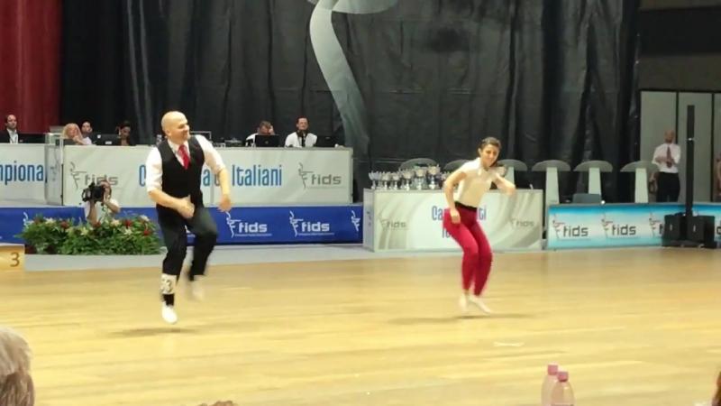 AUDON Thomas - ALLAF Sophie, WM BW Rimini 2017