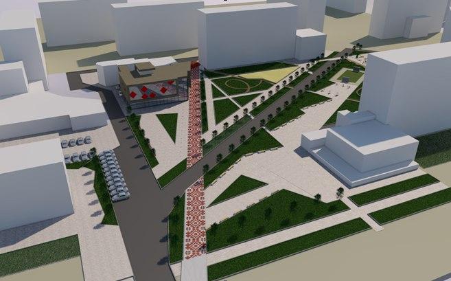 На Гравітоні облаштують сквер та побудують новий громадський об'єкт