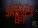 Возвращение в Салем / A Return to Salem's Lot (1987) Трейлер Eng