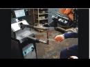 Машина контактной точечной сварки МТР-16073-500. Сварка листа и арматуры.