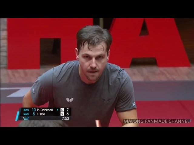 Timo Boll vs Paul Drinkhall   T2APAC 2017   Round 4   Team Fixture 22