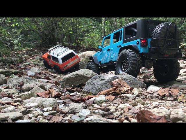 Traxxas TRX4 Rubicon JK | Vattera Ascender Blazer | Off Road Trail