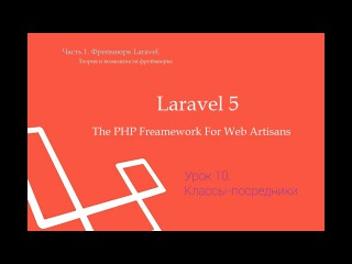 Laravel, Middleware.Урок 10.Классы-посредники