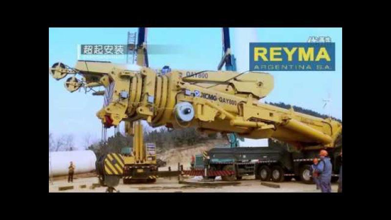 Grua All Terrain 800 toneladas de capacidad XCMG QAY800