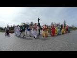 ВИДЕО 360  Маха Харинама на ВДНХ с участием Шри Шри Даял-Нитай Шачисуты