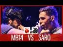 MB14 vs SARO   Grand Beatbox LOOPSTATION Battle 2017   SEMI FINAL