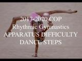 2017-2020 CoP Rhythmic Gymnastics - Apparatus difficulty and Dance (Part 16)