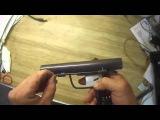 Voici un pistolet de .22 calibre, fabrique