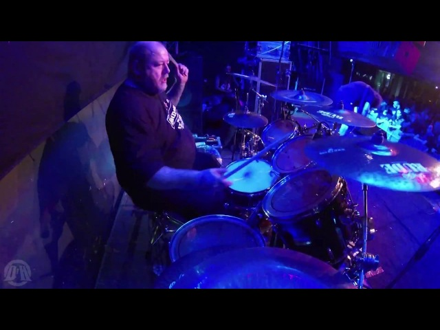 LOCK UP@Accelerated Mutation-Nicholas Barker-live in Poland 2017 (Drum Cam)