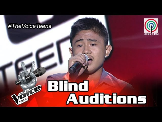 The Voice Teens Philippines Blind Audition: Darryl Sevillejo - Huwag Ka Lang Mawawala