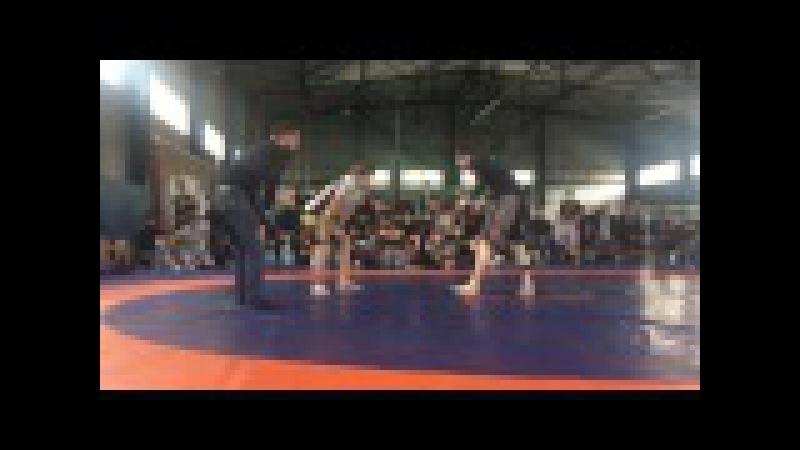 Агиев Ислам Чемпионат по грэпплингу 1 бой 23.05.2017 г. Сунжа