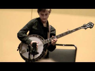 10-Year-Old Jonny Mizzone - Blackjack - Sleepy Man Banjo Boys