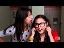 Glee S02E01 Charice Lea Michele Telephone