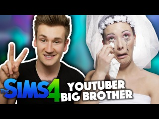 OLI WHITE IS A HOMEWRECKER | YouTuber Big Brother | Sims 4