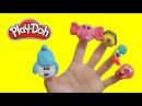 Песенка про пальчики на русском, Семья пальчиков, Развивающее, веселое видео Finger family