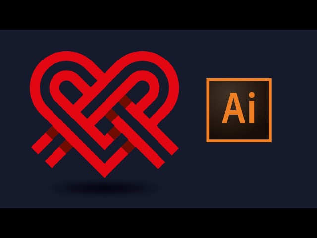 Adobe illustrator CC рисуем логотип в векторе   Logo Tutorial